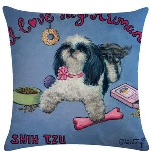 Other - Pillow Cover - New -  Shih Tzu